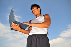 Sporten en Technologie 6 Royalty-vrije Stock Afbeelding