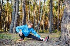 Sporten jong meisje Stock Foto's