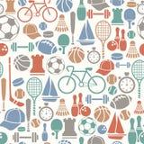 Sporten mönstrar Arkivfoto