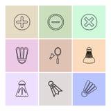 Sporten, spelen, atheletes, eps pictogrammen geplaatst vector vector illustratie