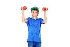 Sporten voor tieners Stock Foto's