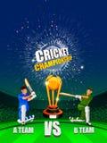 Sportenachtergrond voor de gelijke van de Toernooien van het Veenmolkampioenschap royalty-vrije illustratie