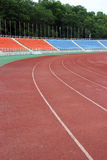Sportenbaan Stock Foto's