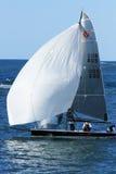 Sportenboten het varen Royalty-vrije Stock Afbeeldingen