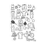 Sporteneenheid, vectorillustratie Royalty-vrije Stock Fotografie