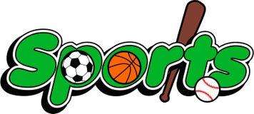 Sportenembleem vector illustratie