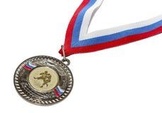 Sportenmedaille Royalty-vrije Stock Foto's