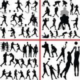 Sportenmengeling vector illustratie