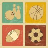 Sportenpictogrammen Stock Afbeeldingen