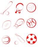 Sportenpunten Stock Fotografie