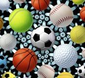Sportenzaken vector illustratie