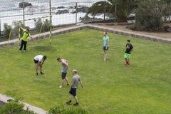 Sportfält i hotell Fotografering för Bildbyråer