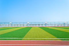 Sportfeld Lizenzfreies Stockbild