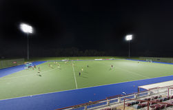Sportfeld Stockfoto