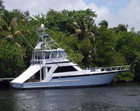 Sportfishing Boat Stock Photo