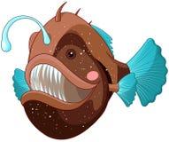 Sportfiskarefisk royaltyfri illustrationer