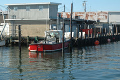 Sportfiske Boad Royaltyfria Bilder