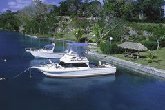 Sportfiskebåtar Royaltyfri Bild