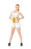 Sportfitness vrouw Royalty-vrije Stock Afbeeldingen