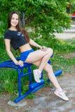 Sportflicka Royaltyfri Fotografi
