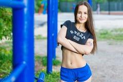 Sportflicka Royaltyfri Bild