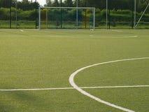 Sportfält Arkivbild