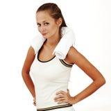 Sportfrau stockbild