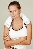 Sportfrau lizenzfreie stockbilder