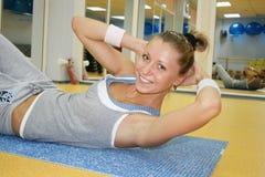Sportfrau Lizenzfreies Stockbild