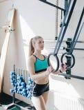 Sportfrau stockfoto