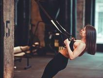 Sportfrau lizenzfreie stockfotos