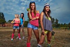 Sportfrauen Lizenzfreies Stockfoto