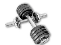 Sportgewichte Stockfoto