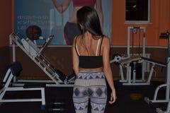 Sportgirl Lizenzfreie Stockfotos