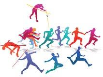 Sporthändelse vektor illustrationer