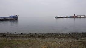 Sporthamn vladivostok Royaltyfri Bild