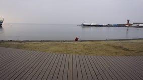 Sporthamn vladivostok Ryssland Arkivfoton