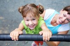 Sportief kind Stock Afbeelding