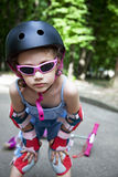 Sportief meisje Stock Afbeeldingen