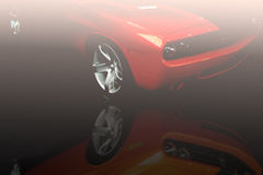 Sportieve Auto Royalty-vrije Stock Fotografie