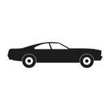 Sportieve autoillustratie vector illustratie