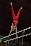 Sportieve gymnastiek Royalty-vrije Stock Afbeeldingen