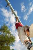 Sportieve kinderjaren Stock Foto