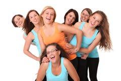 Sportieve meisjes Royalty-vrije Stock Foto