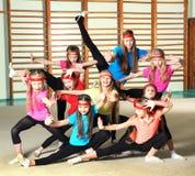 Sportieve meisjes Stock Foto