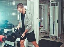 Sportieve mens royalty-vrije stock afbeelding