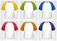 Sportieve T-shirts. Stock Afbeelding