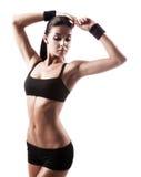 Sportieve vrouw Stock Afbeelding
