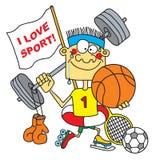 Sportif Photos stock