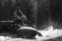 Sportif de l'eau photo stock
